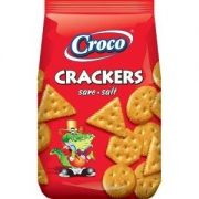 Croco Salted Crackers, 100 g