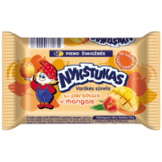 Nykstukas Curd Cheese Bar with Peach and Mango 100g
