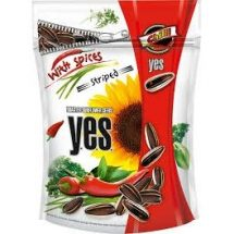 Sunflower Seeds Y.E.S Chilli Flavour, 150g