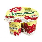 Svalia Cottage Cheese with Cherry 7% Fat 150g