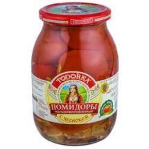 """Tomatoes Pickled  with Garlic """"Todorka"""" 580g"""