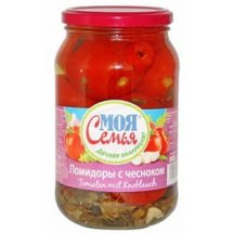 """Tomatoes With Garlic """"My Family"""" 880g"""