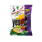 Y.E.S. Roasted Striped Sunflower Seeds with Cheese Flavour Spices 150g BC: 4770266130174 Item No: 61420